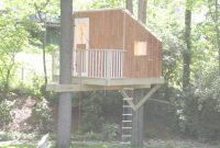 Amazing Strange Simple Tree House Plans Inspirational Plan Home Building pertaining to Easy Treehouse Plans Free