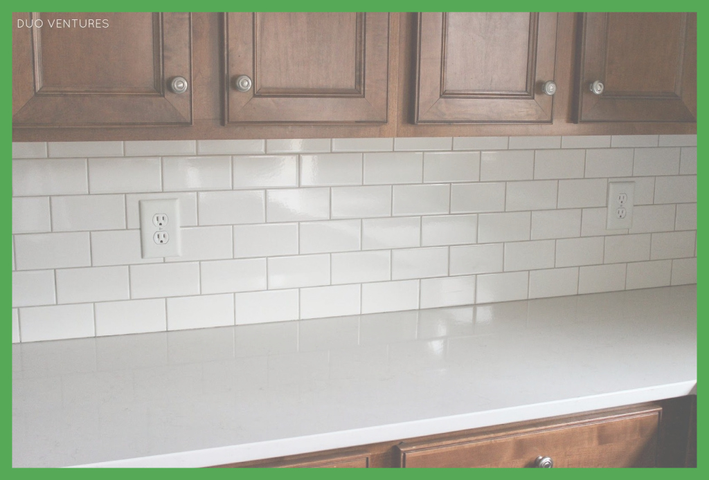 Amazing Stunning Astonishing White Subway Tile Kitchen Backsplash Grout within Good quality How To Grout Backsplash