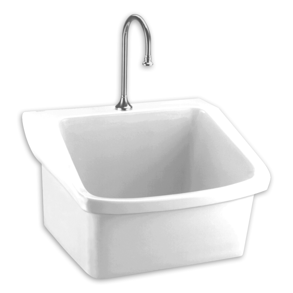 Amazing Surgeons Wall Mounted Scrub Sink - American Standard within Elegant Small Bathroom Sinks Wall Mount