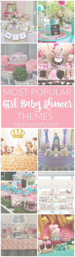 Amazing The 12 Most Popular Baby Shower Themes For Girls | Catch My Party intended for Popular Baby Shower Themes