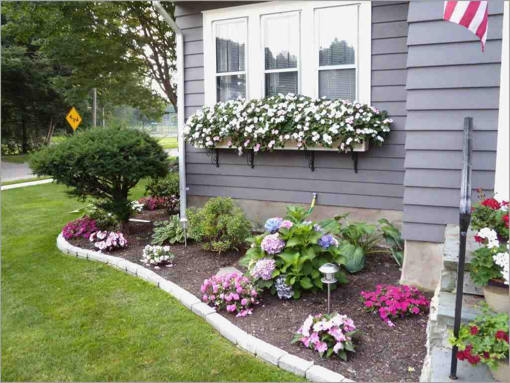Amazing The Basics Of Front Yard Landscape Design — Iwmissions Outdoor Design with Elegant Yard Landscape Pictures