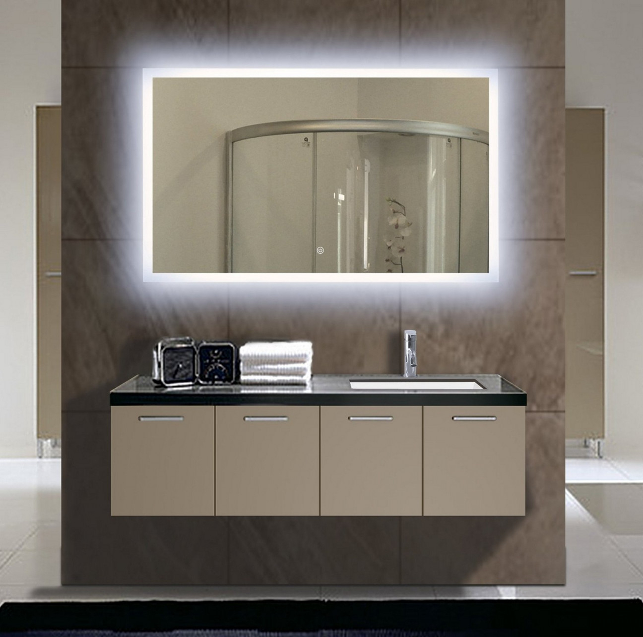 Amazing Top Bathroom Vanity Mirrors : Mirror Ideas - Ideas For Install for Beautiful Bathroom Vanity Mirrors