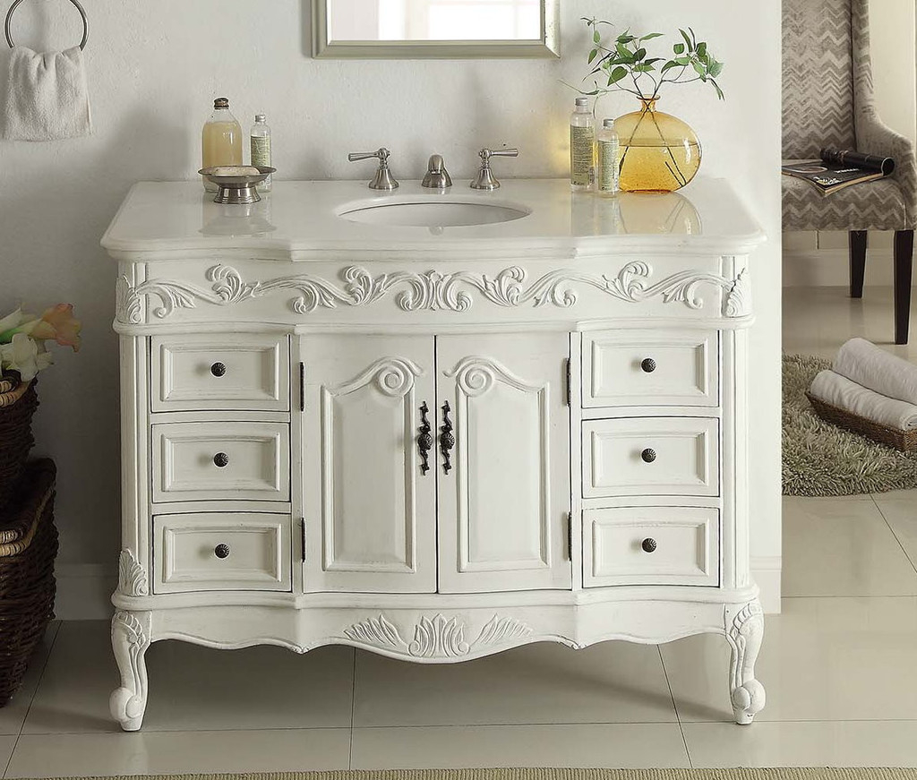 Amazing Traditional Bathroom Vanities White : Top Bathroom - Ideal regarding Awesome Traditional Bathroom Vanity