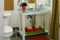 Amazing Vanity Tray | Hgtv for New Bathroom Vanity Storage