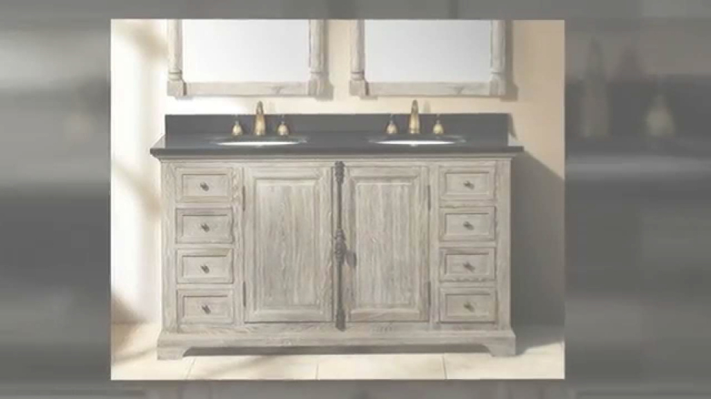 Amazing Weathered Wood Driftwood Solid Wood Bathroom Vanitiesjames intended for Weathered Wood Bathroom Vanity