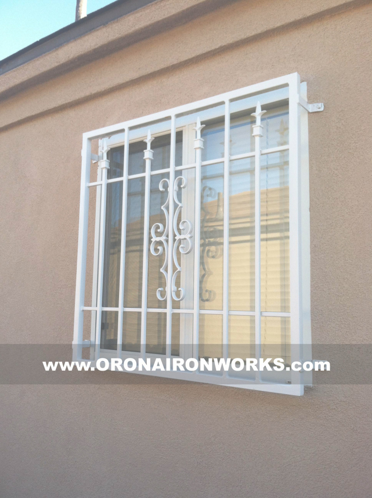 Amazing Window Grills | Orona Forge throughout Latest Window Grill Design Photos