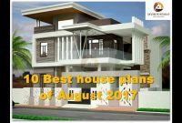 Beautiful 10 Best House Plans Of August 2017 | Indian Home Design Ideas – Youtube intended for Indian Home Plans