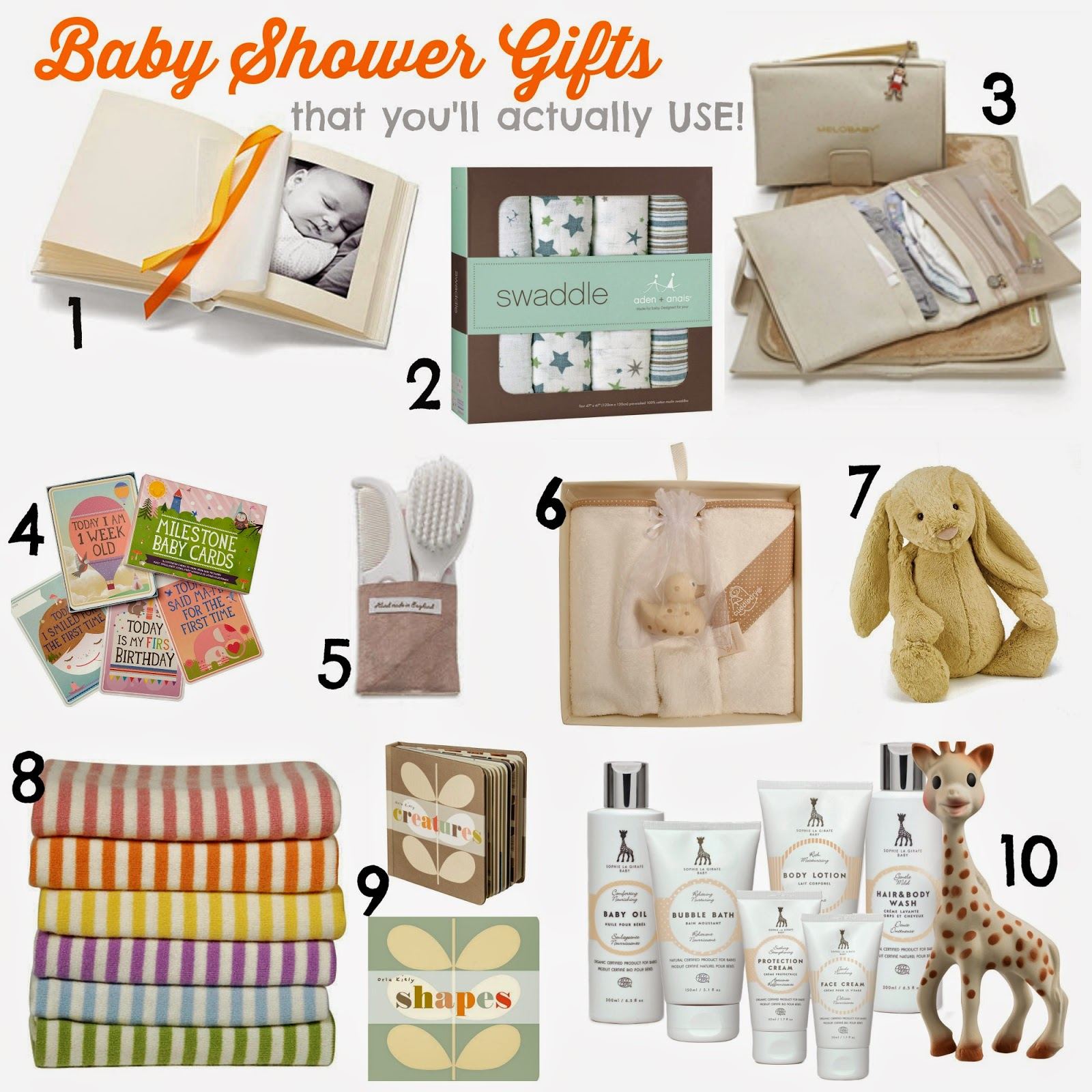Beautiful 10 Luxe Baby Shower Gifts That New Mums Will Love - And Use | V. I. with Luxury Useful Baby Shower Gifts