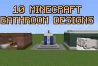 Beautiful 10 Minecraft Bathroom Designs! – Youtube in Review Minecraft Bathroom Ideas