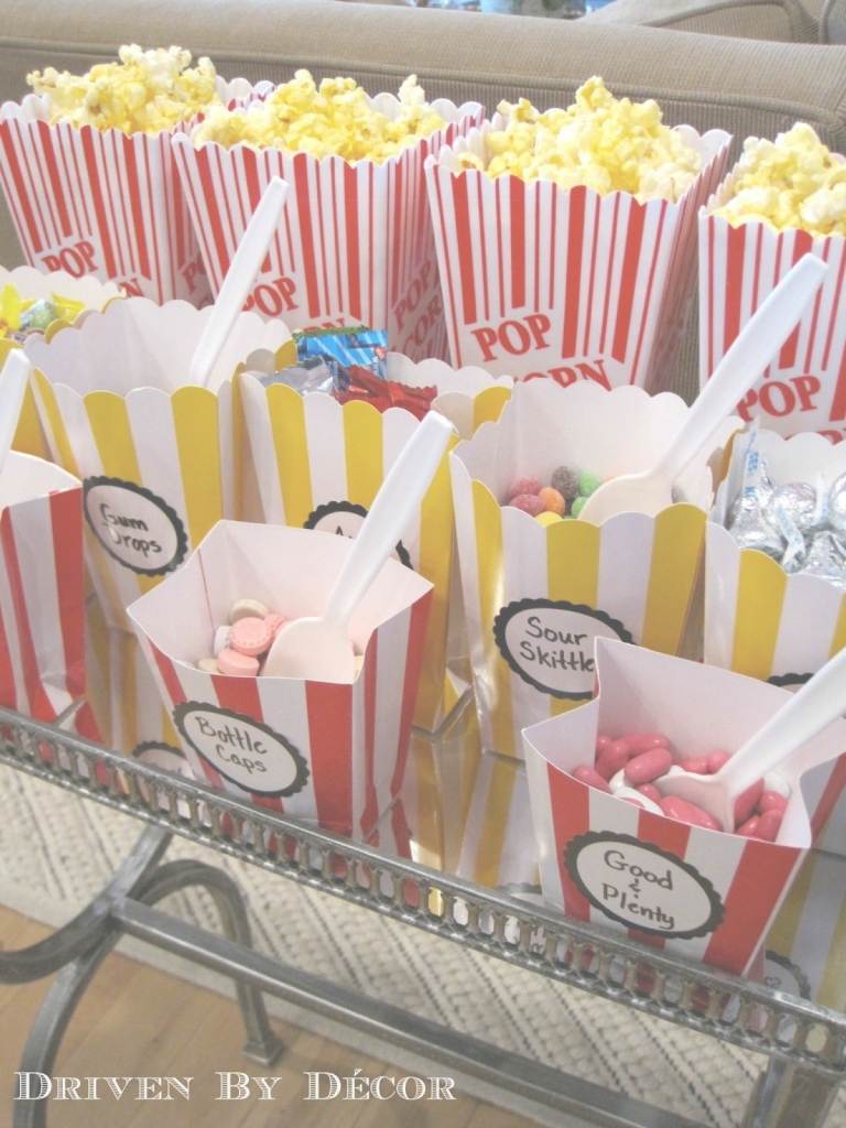 Beautiful 10 Pretty Movie Themed Birthday Party Ideas pertaining to Movie Themed Decor