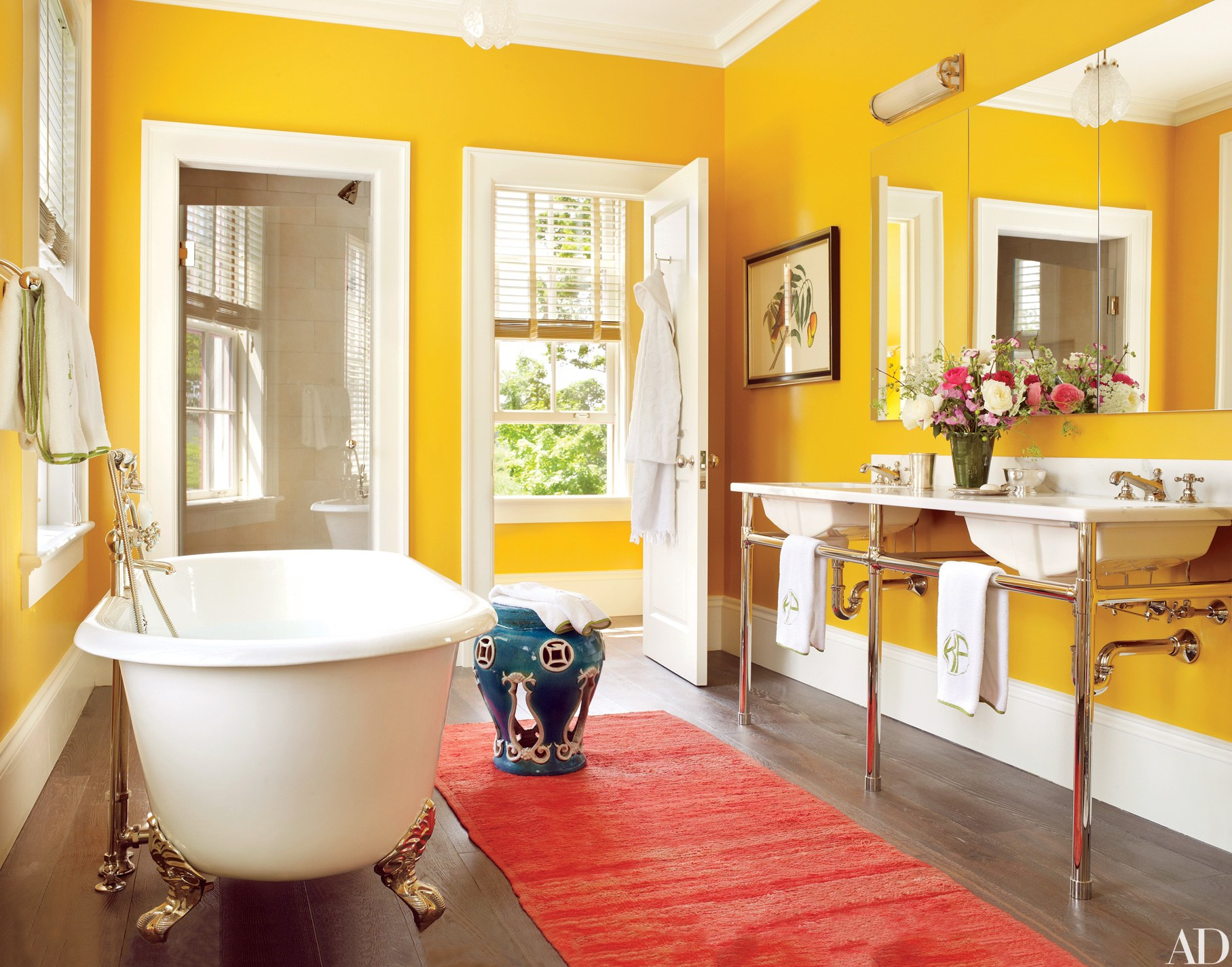 Beautiful 20 Colorful Bathroom Design Ideas That Will Inspire You To Go Bold intended for New Bathroom Ideas Colors