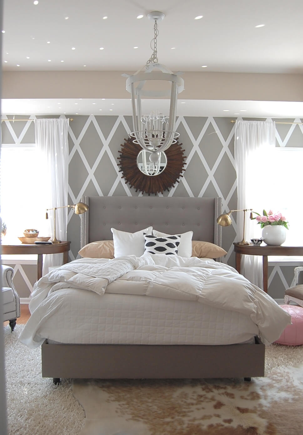 Beautiful 23 Best Grey Bedroom Ideas And Designs For 2018 intended for Inspirational Bedroom Gray