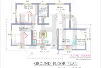 Beautiful 24 Awesome 2 Bedroom House Plans Kerala Style | Askmrbike intended for House Plans With Photos In Kerala Style
