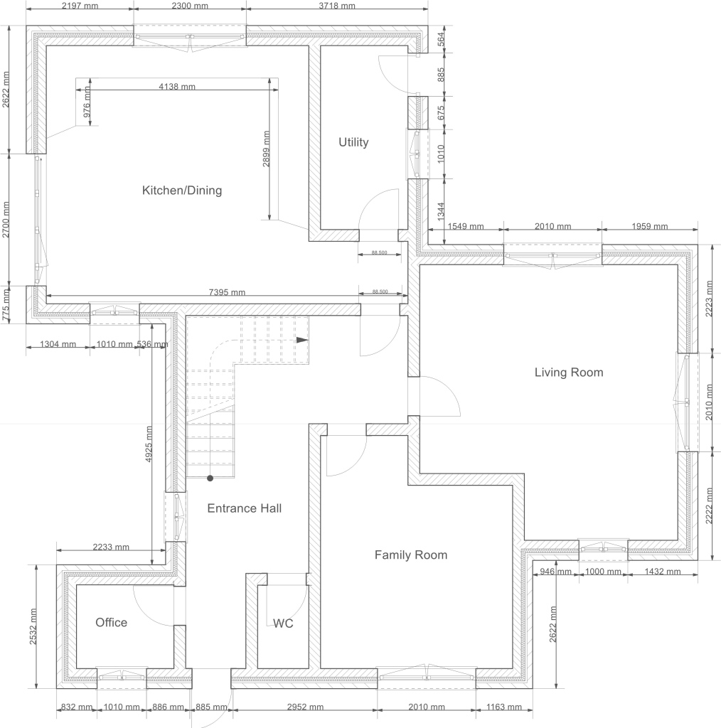 Beautiful 2D Drawing Gallery | Floor Plans | House Plans inside House Plan Drawing