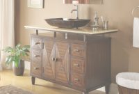 Beautiful 48 Inch Bathroom Vanity Made Of Wood within Bathrooms Vanities