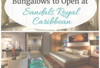 Beautiful 5 Overwater Bungalows To Open At Sandals Royal Caribbean | Pinterest for Over The Water Bungalows In Caribbean
