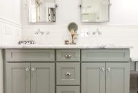 Beautiful 50 Top Grey Bathroom Cabinets Pics | Radiant Magazine intended for Best of Shaker Bathroom Cabinets