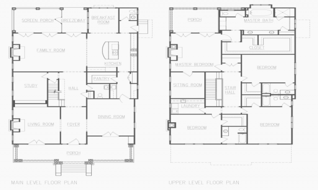 Beautiful 60 Best Of Of American Foursquare Floor Plans Gallery with American Foursquare Floor Plans Images