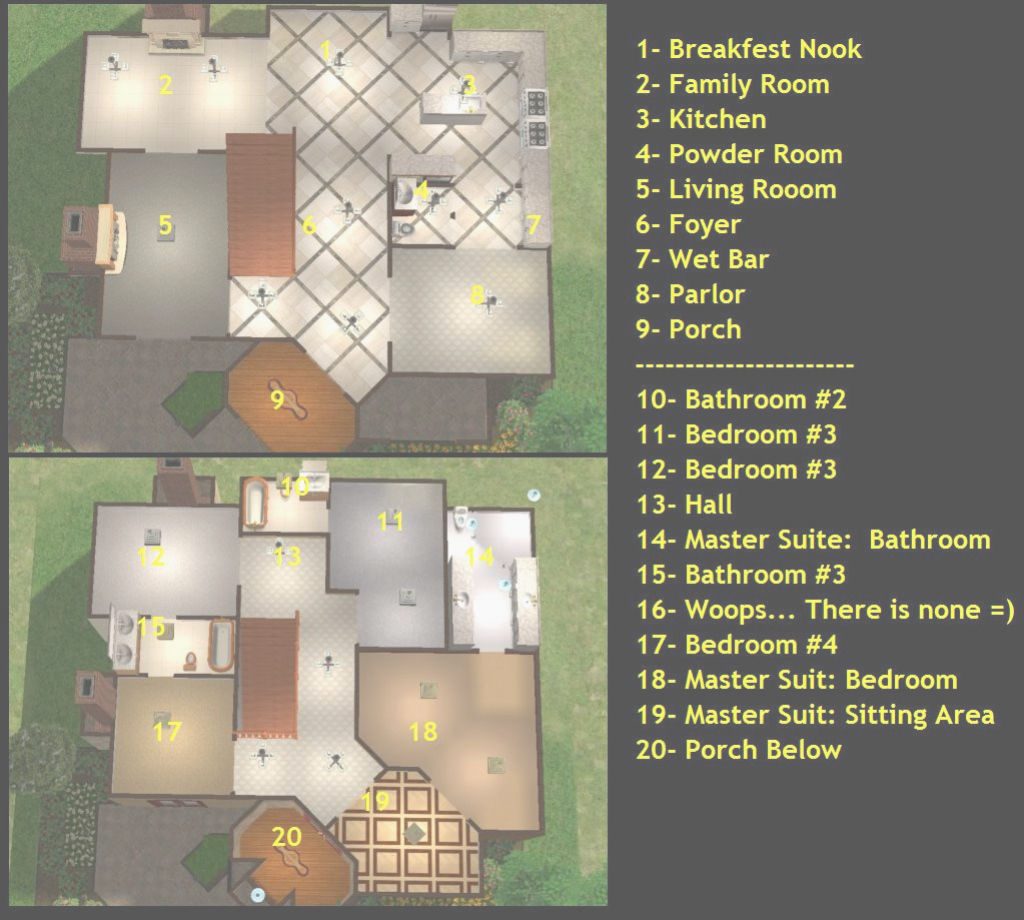 Beautiful 60 Luxury Of Sims 2 Floor Plan Stock pertaining to Good quality Sims 2 Floor Plans