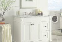 Beautiful Adelina 36 Inch White Finish Bathroom Vanity, Marble Counter Top with Lovely 36 White Bathroom Vanity