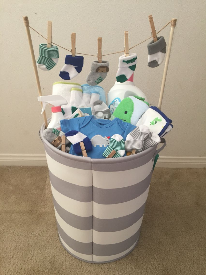 Beautiful Baby Boy Baby Shower Gift! (Idea From My Mother-In-Law) | Things in Useful Baby Shower Gifts
