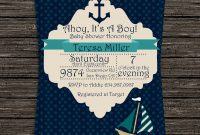 Beautiful Baby Boy Shower Invitations For Inspirational Nice Looking Baby with Baby Boy Baby Shower Invitations
