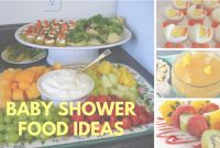 Beautiful Baby Shower Food Ideas On A Budget Theme And Decoration – Youtube pertaining to Baby Shower Food