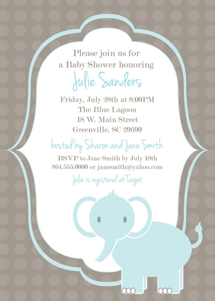 Beautiful Baby Shower Invitations For Boys | Baby Shower Invitations with regard to Baby Shower Templates Free