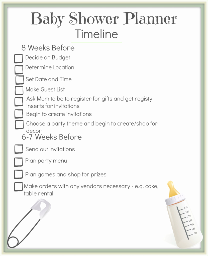 Beautiful Baby Shower Planning Guide Marvelous Baby Shower Agenda Template inside Baby Shower Planning Guide