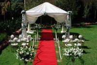 Beautiful Backyard Backyard Wedding Reception Ideas Awesome Concept Backyard intended for How To Plan A Backyard Wedding