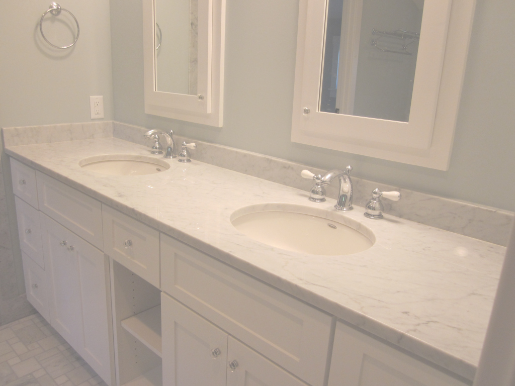 Beautiful Bathroom: Appealing Bathroom Vanity Countertops Double Oval Sinks with regard to Lovely Bathroom Vanity Countertops
