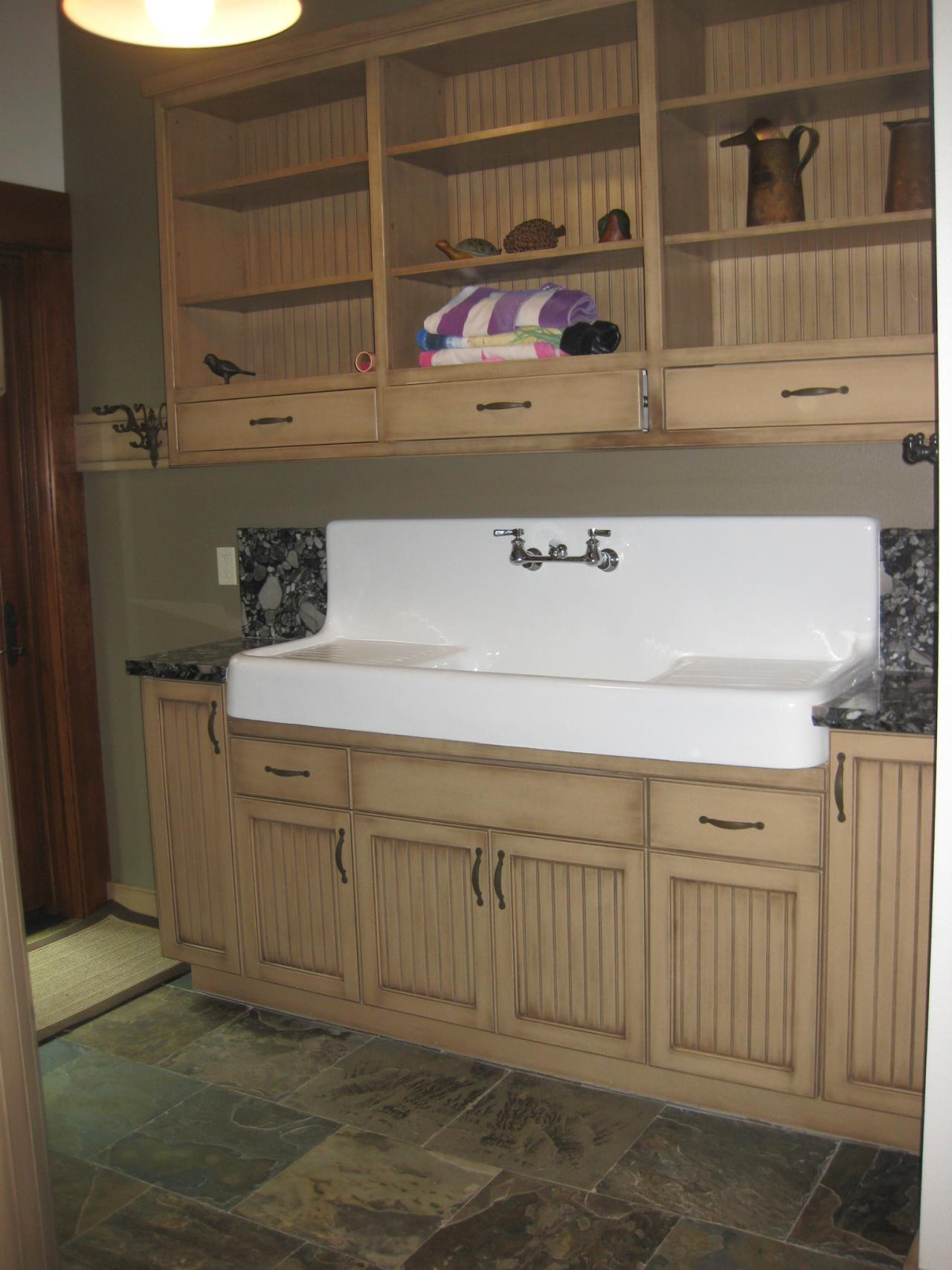 Beautiful Bathroom : Wonderful Farmhouse Sink Bathroom Vanity Picture Of Fresh pertaining to New Farmhouse Sink In Bathroom