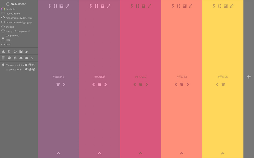 Beautiful Best Color Palette Generators — Html Color Codes pertaining to Android Color Codes