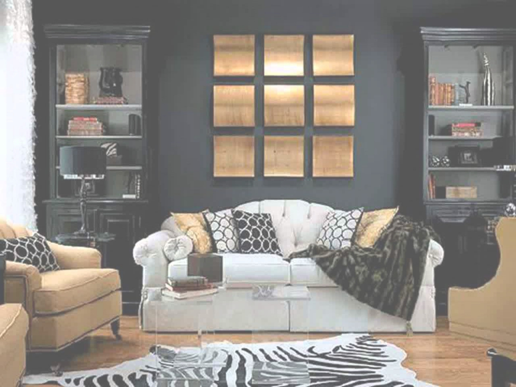 Beautiful Black White And Gold Living Room Ideas - Youtube in Inspirational Black White And Gold Living Room
