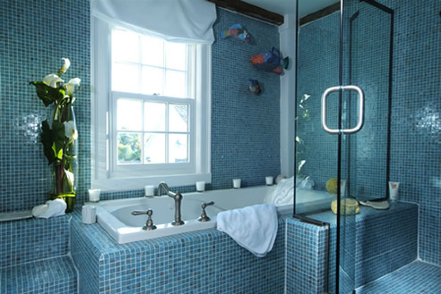 Beautiful Blue Bathroom Tile Ideas | Bathroom Design And Shower Ideas pertaining to Blue Bathroom Remodel