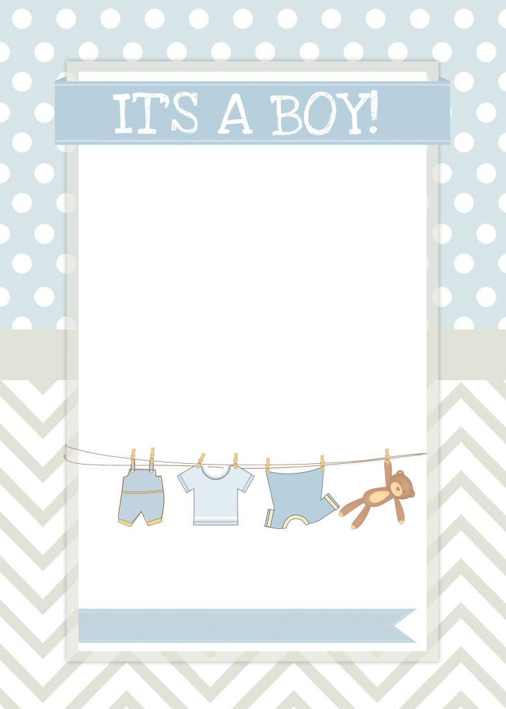 Beautiful Boy Baby Shower Free Printables | Pinterest | Boy Baby Showers, Free inside Baby Shower Templates Free