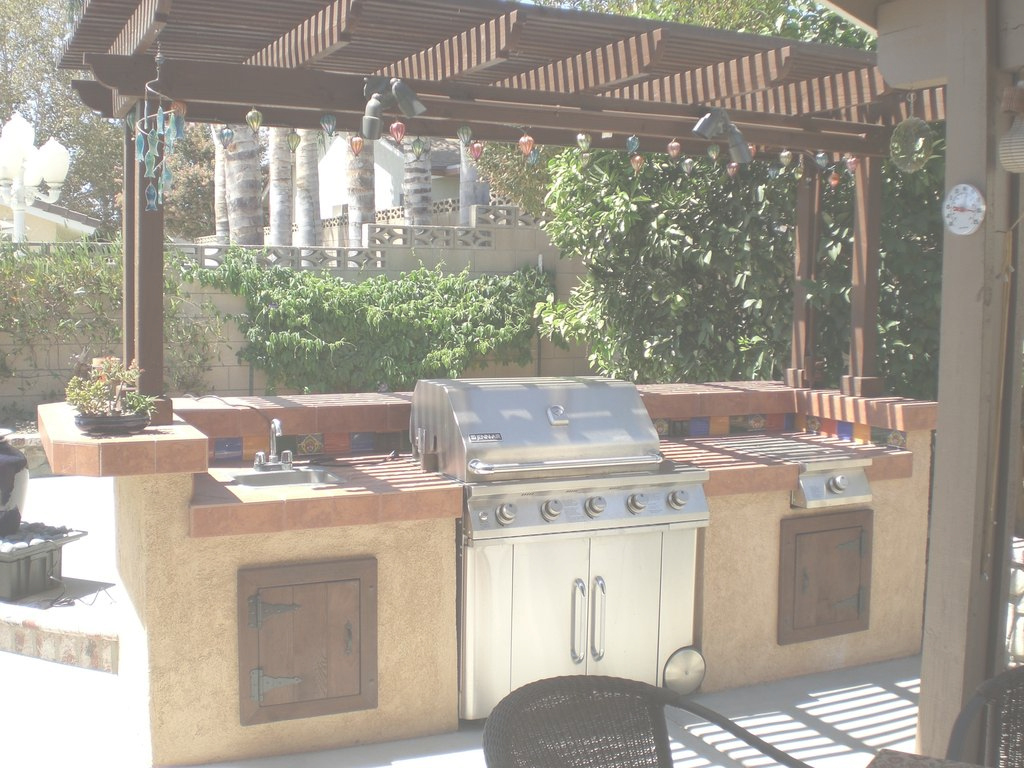 Beautiful Build A Backyard Barbecue!: 13 Steps (With Pictures) intended for Backyard Bar And Grill