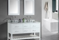 Beautiful Cabinet : Double Sink Cabinet Bathroom Vanities Bath The Home Depot throughout Bathroom Double Sink Cabinets