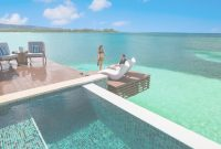 Beautiful Caribbean Overwater Bungalows At Sandals Royal Caribbean Uniquely inside Lovely Overwater Bungalows All Inclusive