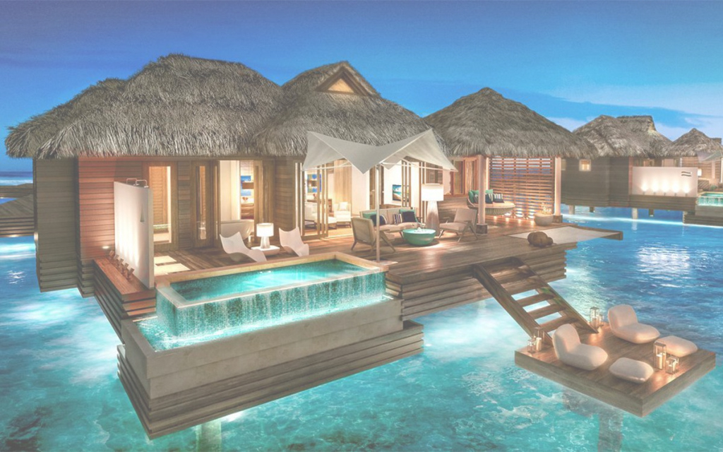 Beautiful Caribbean Overwater Bungalows | Insidehook intended for Overwater Bungalows Jamaica