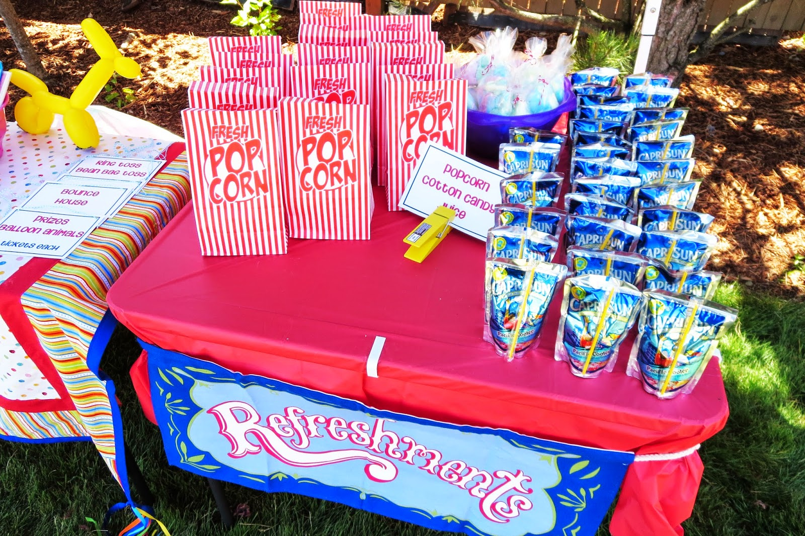 Beautiful Carnival Backyard Party - Talentneeds - inside Backyard Carnival