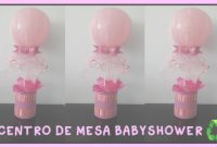 Beautiful Centro De Mesa Babyshower/bautizo Con Botellas Facil Y Economico pertaining to Set Centros De Mesa Para Baby Shower Economicos