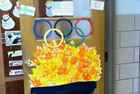Beautiful Classroom Door Decorations – Ideas For All Seasons within Olympic Themed Decorations