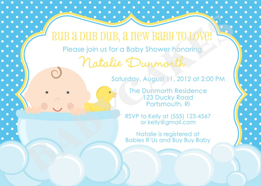 Beautiful Colors : Classic Free Baby Shower Invitations Via Email With intended for Who Plans A Baby Shower