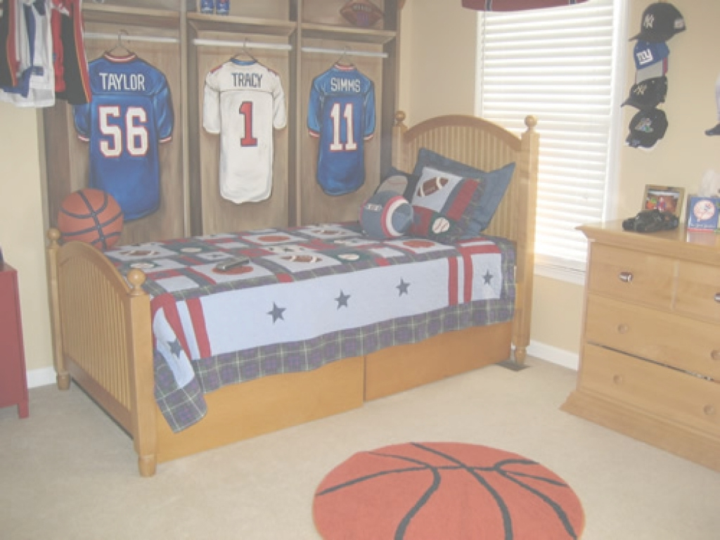 Beautiful Creative Baseball Theme Boys Room Decor - Sports Bedroom Decorating for Awesome Sports Themed Bedroom Decor