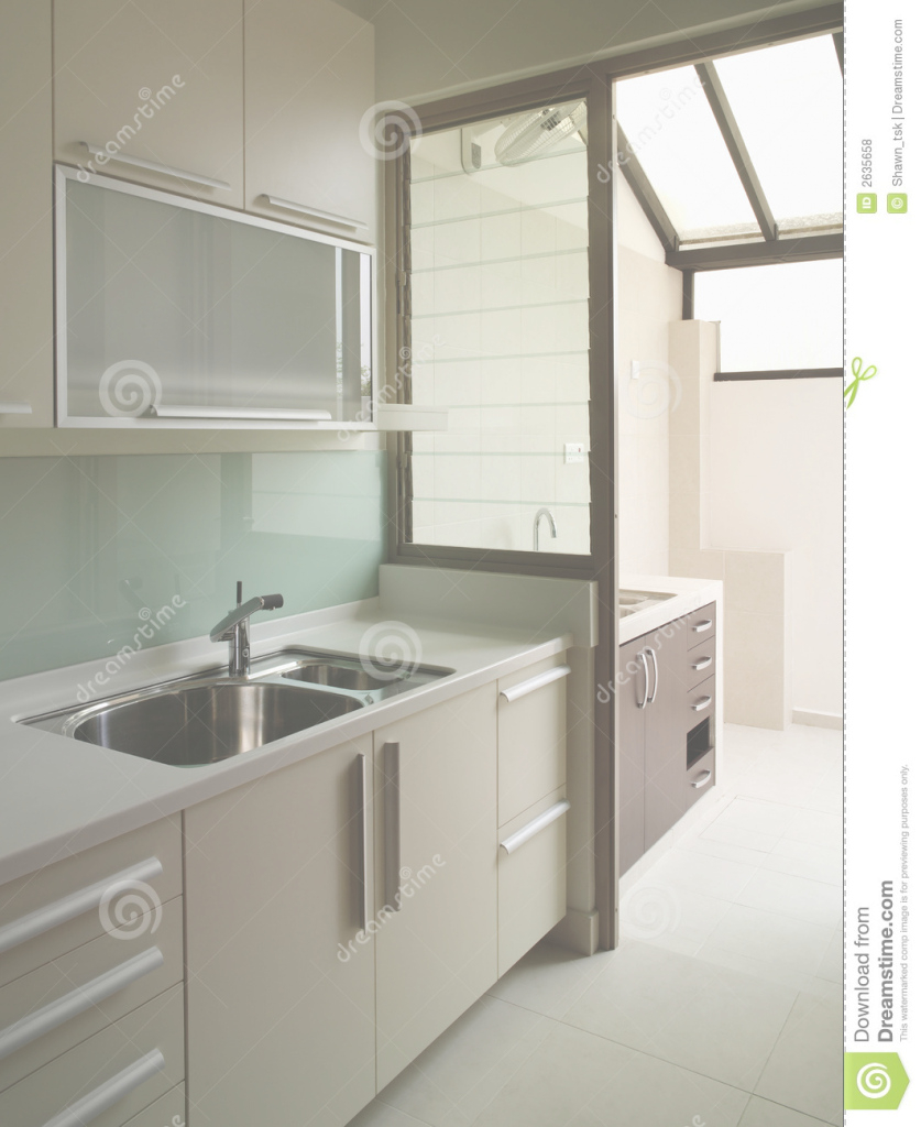 Beautiful Dazzling Design Ideas Cool Wet Kitchen Photo Interior Stock Image Of regarding Wet And Dry Kitchen Design
