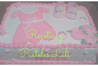 Beautiful Decoración Pastel De Baby Shower – Youtube in Fresh Pasteles Para Baby Shower Niña