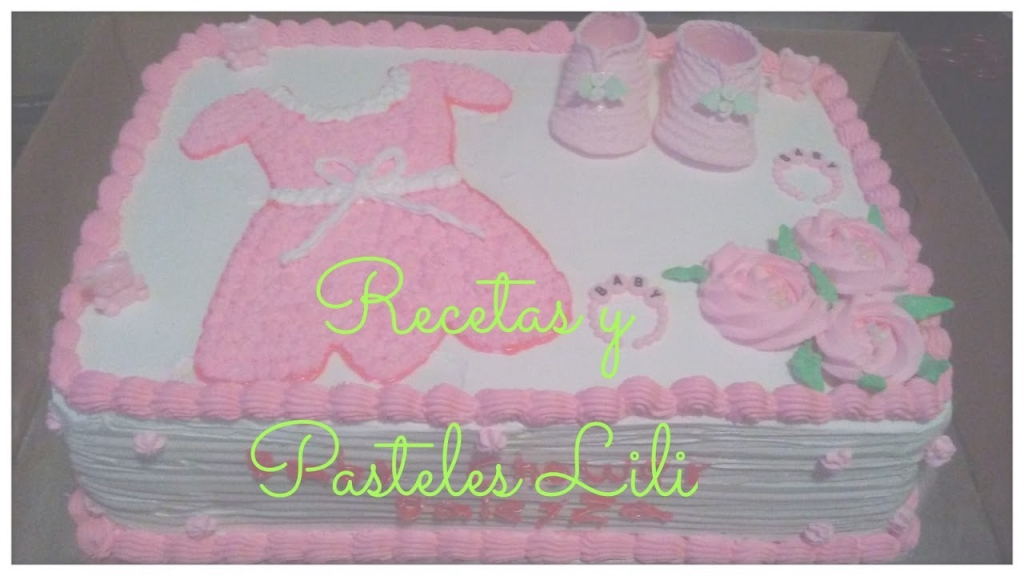 Beautiful Decoración Pastel De Baby Shower - Youtube in Fresh Pasteles Para Baby Shower Niña