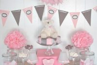Beautiful Decoraciones De Mesa Para Ba Shower Ideas Para Inspirarte Foto inside Awesome Mesa Para Baby Shower