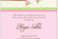 Beautiful Designs : Free Baby Shower Invite Wording For Twins With Charming throughout Fresh Free Places To Have A Baby Shower